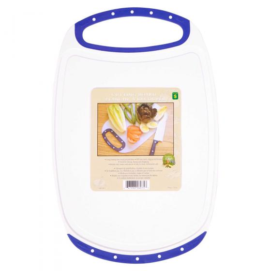 Plastic Cutting Board with Handle (Assorted Colours)