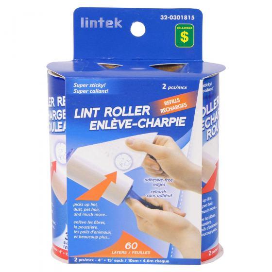 Lint Roller Refills 2PK