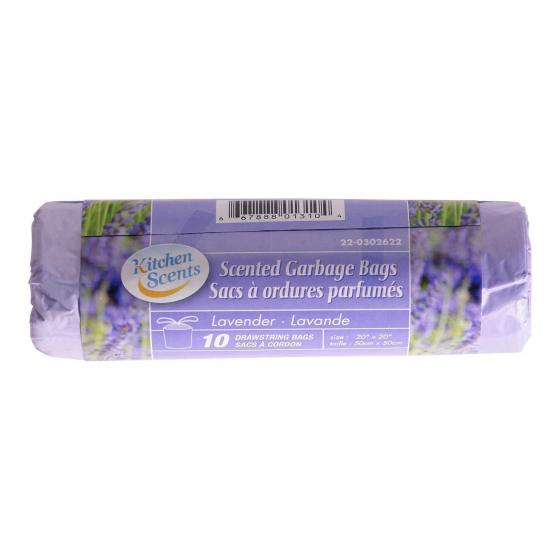 Scented Garbage Bags 10PK (Assorted Scents and Colours)