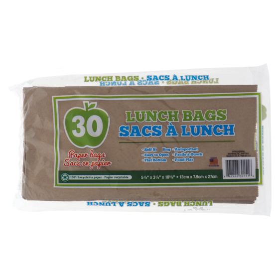 Lunch Paper Bags 30PK