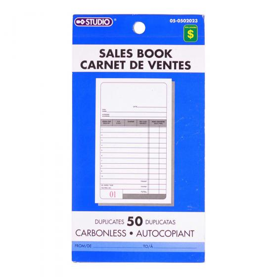 Sales Book