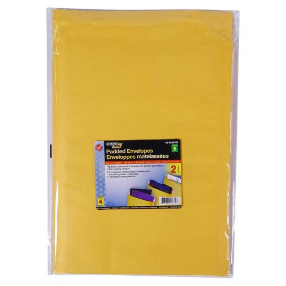 "Padded Envelopes 9.5""x13.625"", 2PK"
