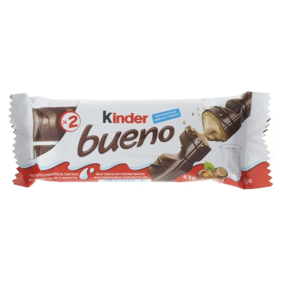Kinder Bueno Milk Chocolate Bars 2PK