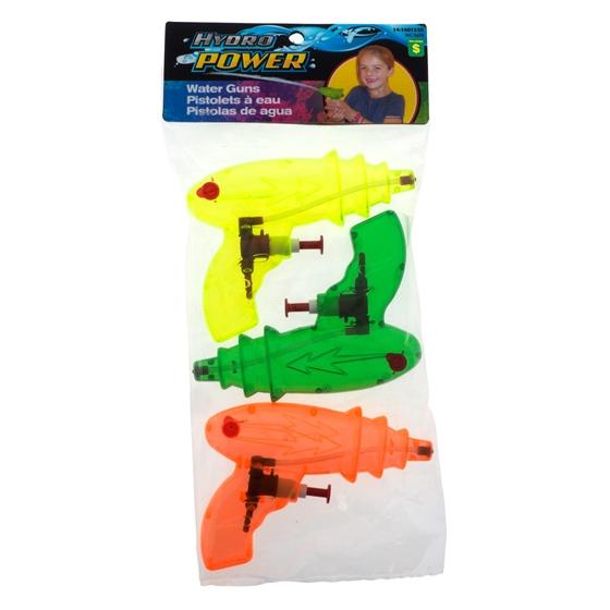 Splash Water Guns-3pc.