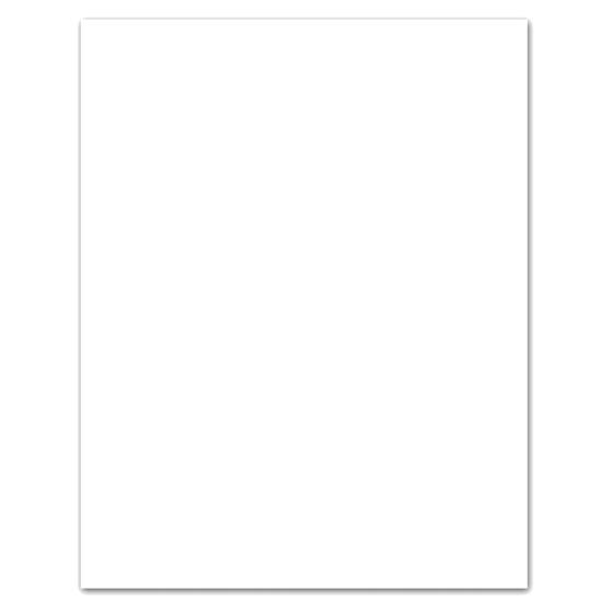 White Bristol Board Sheet