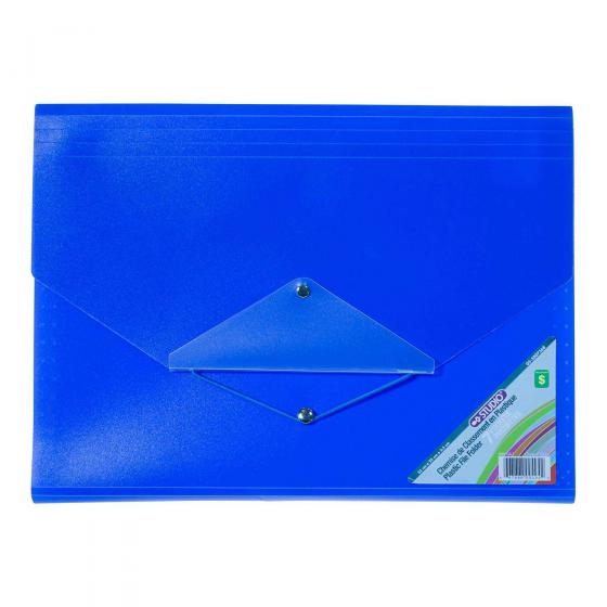 Plastic File Folder (Assorted Colours and Patterns)