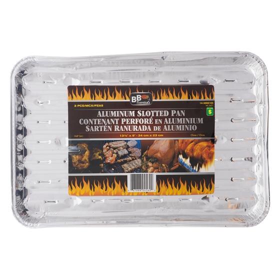 3Pk Aluminium Barbeque Tray