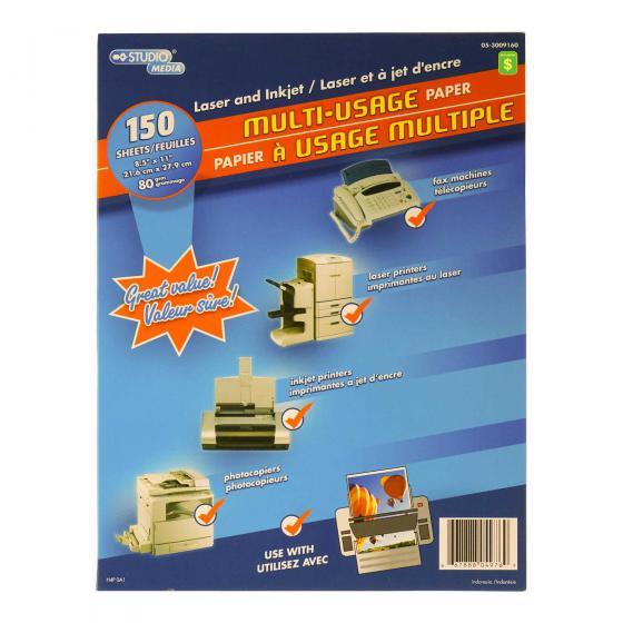 "Multi-Usage Paper 8.5""x11"" 150PK"