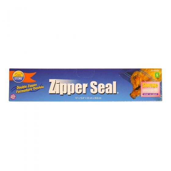 Zipper Seal Storage Bags 6PK