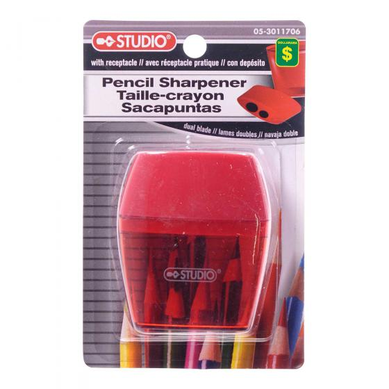 Pencil Sharpener (Assorted Colours)