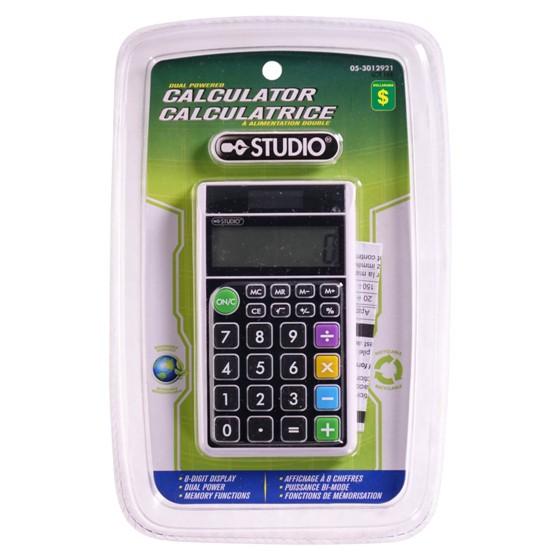 Dual Powered Calculator
