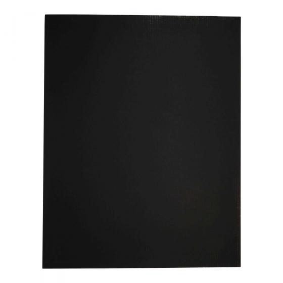 Coated Deluxe Black Bristol Board