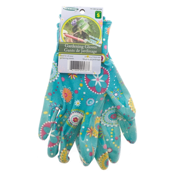 """Women's Size 8"""" Nitrile Gardening Glove"""
