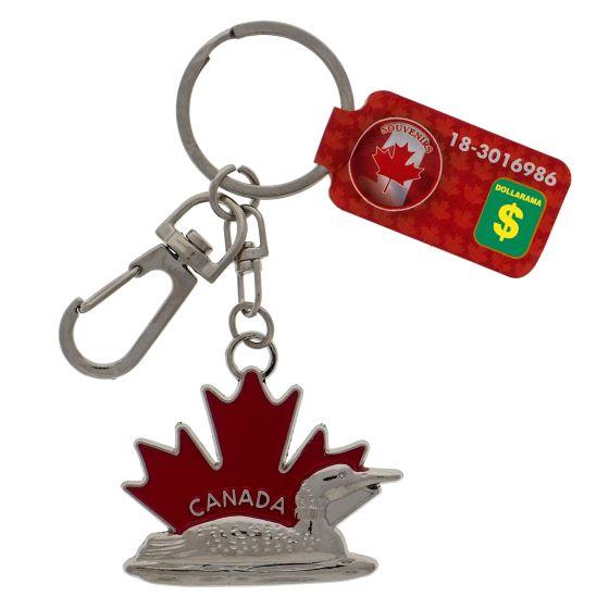 Canada Souvenir Enamel Keychain