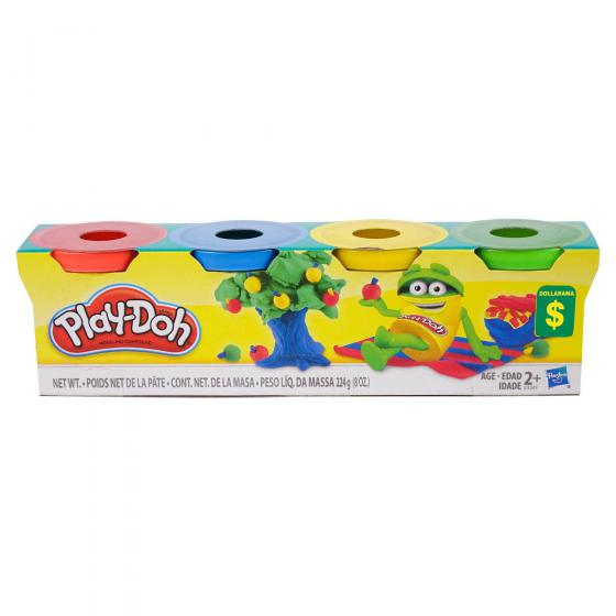Modelling Clay Set 4PC (Assorted Colours)