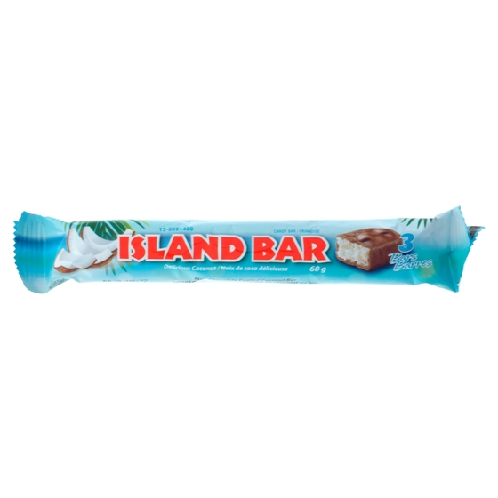ISLAND Coconut Chocolate Bars 3PK