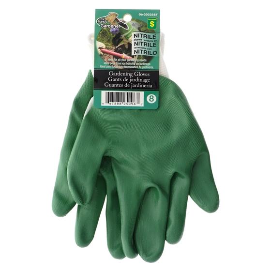 Women's Nitrile Coated Garden Gloves