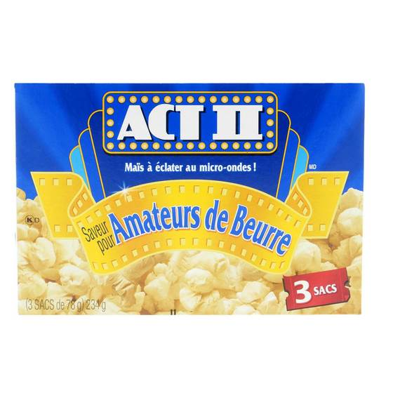 3 Bag Butter Lovers Popcorn