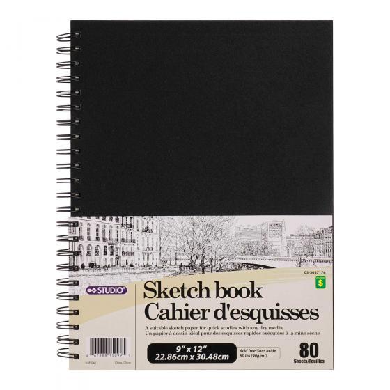 80 Page Sketchbook