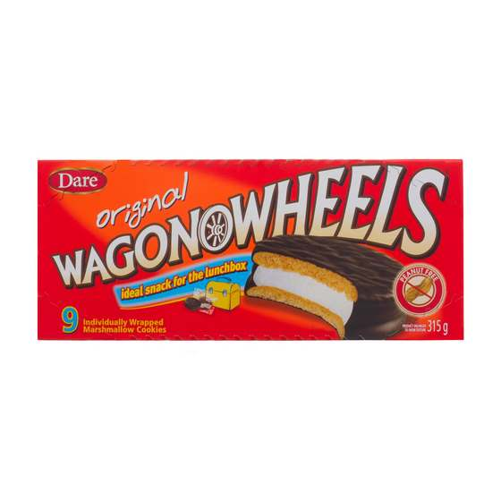 WAGON WHEELS Original Marshmallow Cookies 9PK