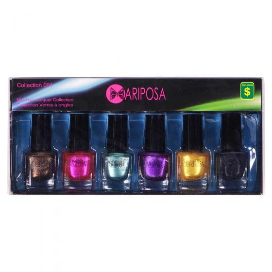 Nail Polish Set 6PC (Assorted Styles and Colours)