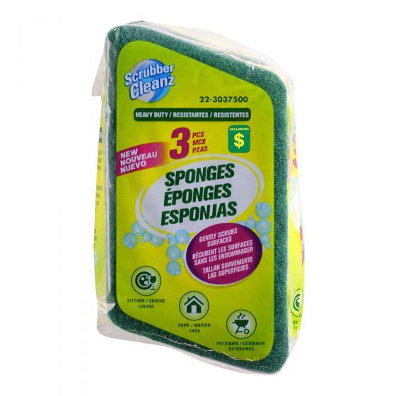 Scrub Sponges 3PK
