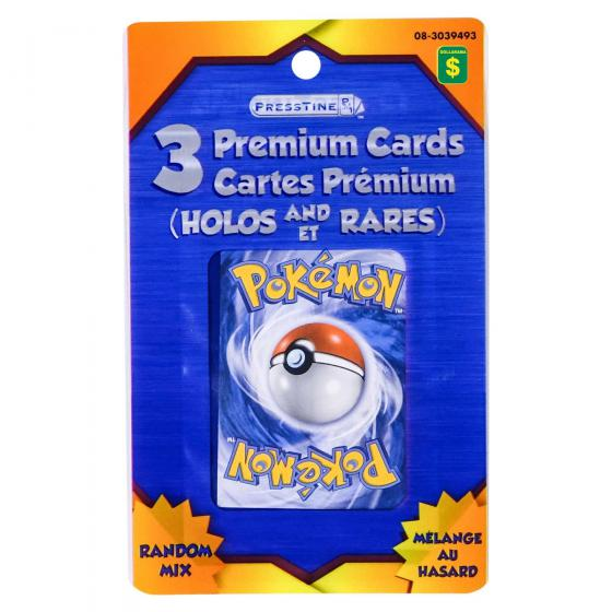 Pokemon Premium Cards 3PK