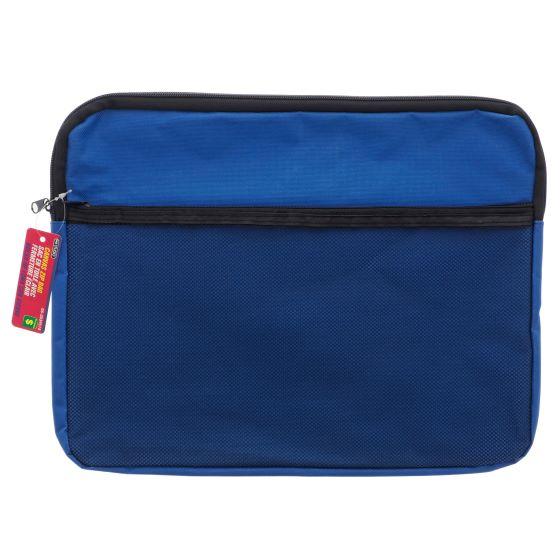 Canvas Zip File Bag