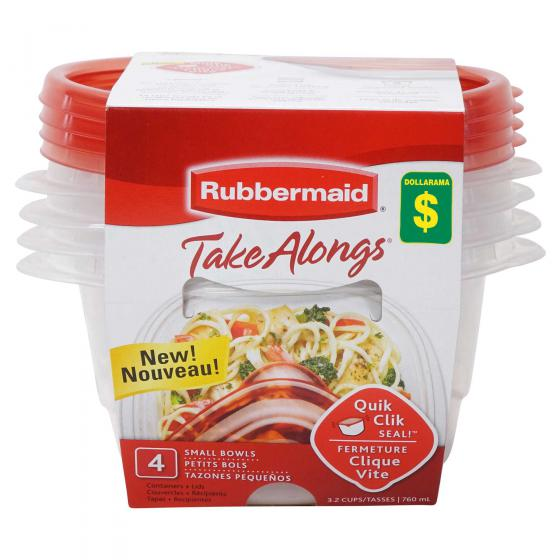 Food Containers 4PK