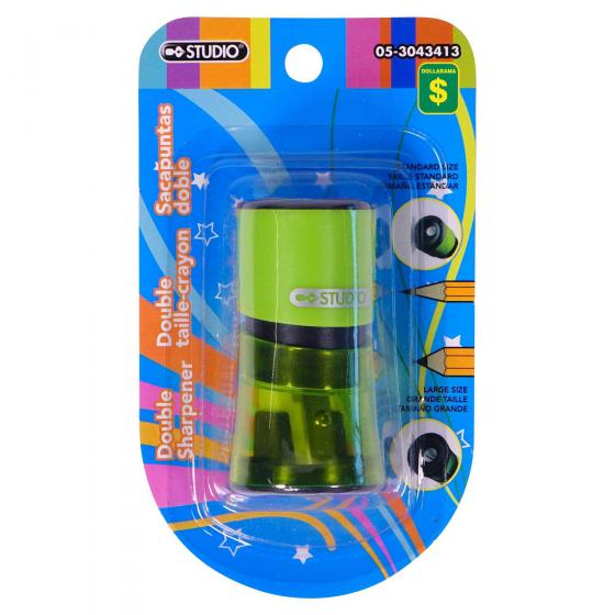 Double Sharpener (Assorted Colours)