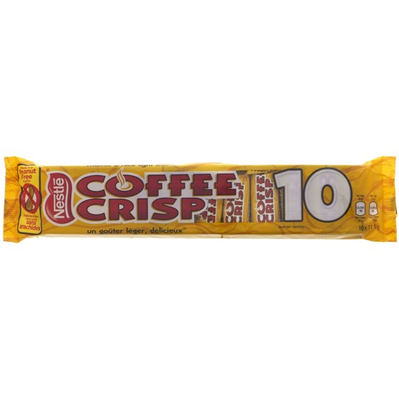 COFFEE CRISP Snack Size 10PK