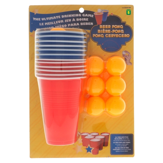 Beer Pong Game Kit