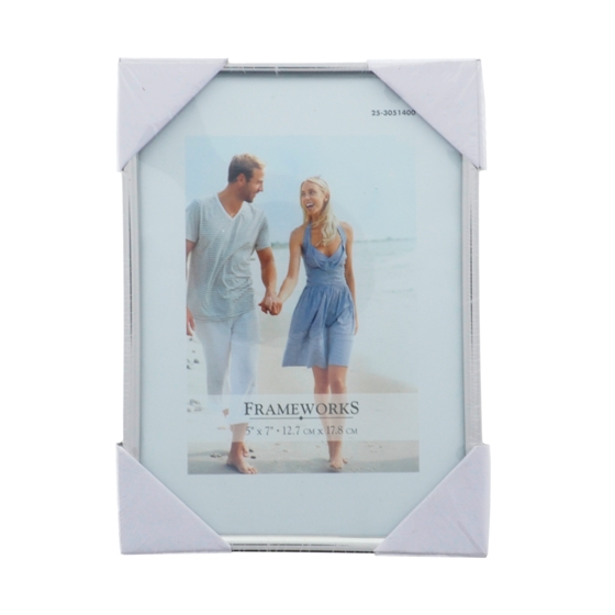5'' x 7'' Metallic Photo Frame (Assorted Styles)