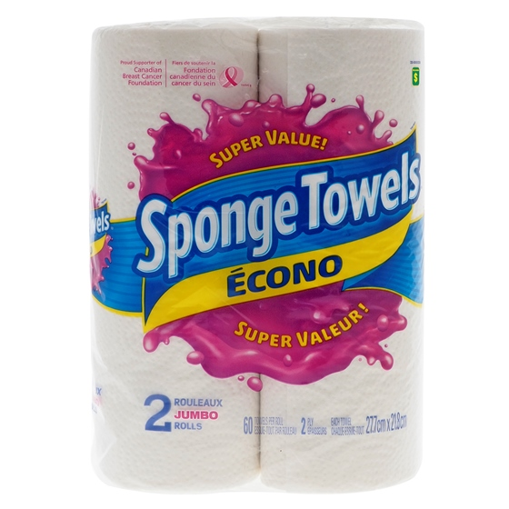Econo Paper Towels 2PK of 60