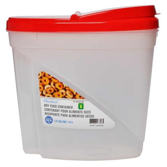 Dry Food Container (Assorted Colours)