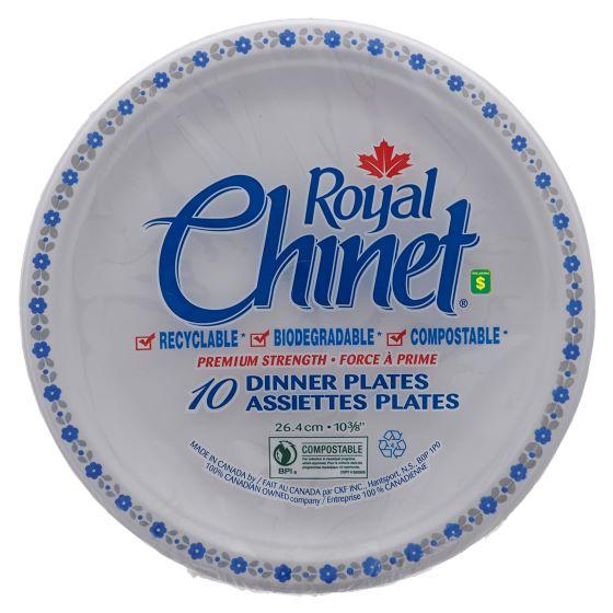 10Pk Disposable Dinner Plates