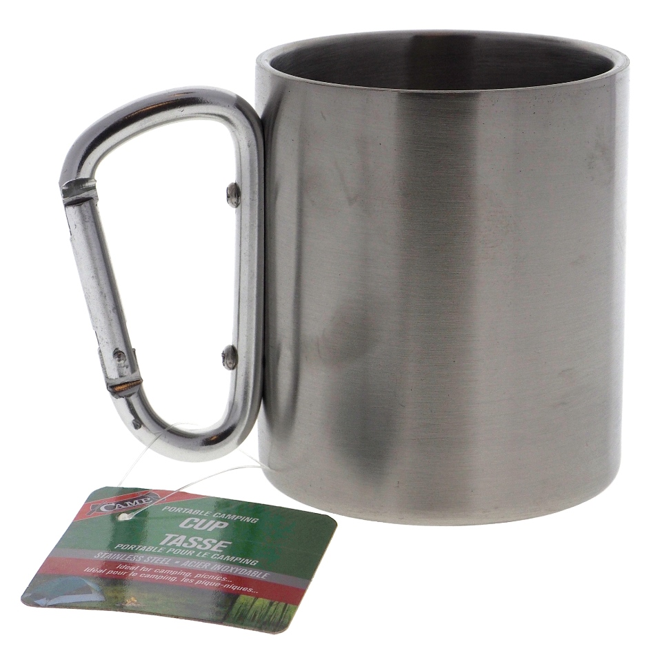 S.S. Camping Cup w/ Alu Handle