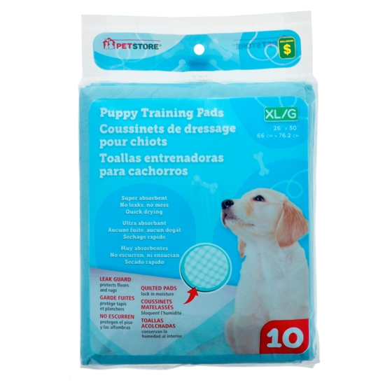 XL Puppy Training Pads 10PK