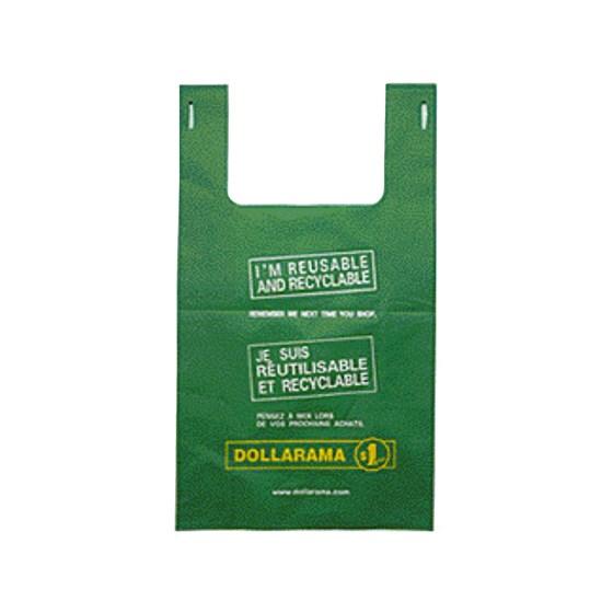 Large Bilingual Dollarama Eco Bag