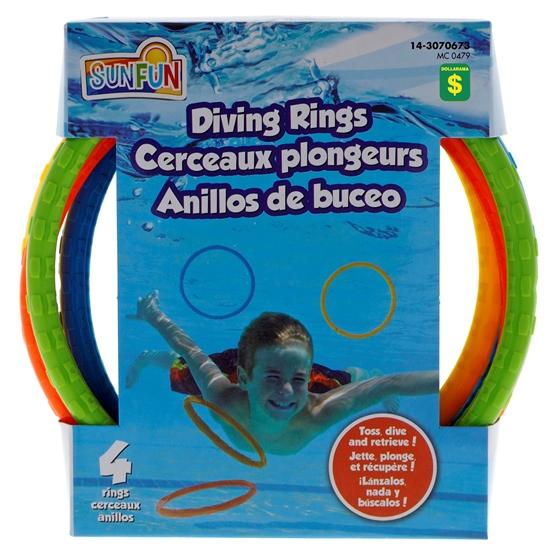 4Pk Diving Rings