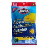 1 Pair Natural Rubber Dish Gloves, Medium - 0