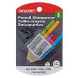Metal 2 Hole Pencil Sharpener - 0