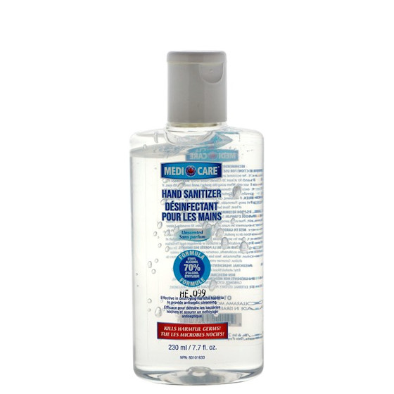Medicare Hand Sanitizer 70% Alcohol - 230ml