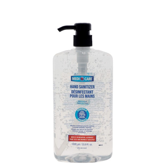 Medicare Hand Sanitizer 70% Alcohol - 1000ml