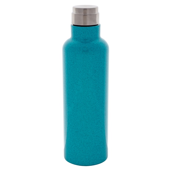 Screw Top double wall vacuum Teal bottle - 20 oz