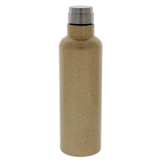 Screw Top double wall vacuum Gold bottle - 20 oz