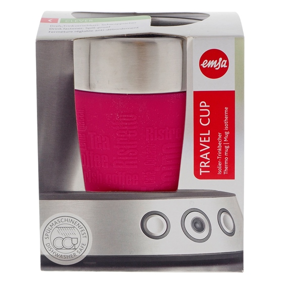 Esma Pink Travel Thermo Cup - 6.8 oz